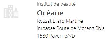 Institut de beauté Océane (Payerne)