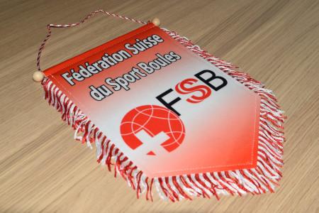 Grand fanion Fédération Suisse du Sport Boules